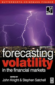 Ebook in inglese Forecasting Volatility in the Financial Markets -, -