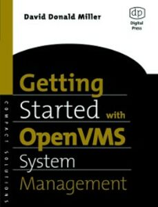 Ebook in inglese Getting Started with OpenVMS System Management Miller, David