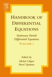 Ebook in inglese Handbook of Differential Equations:Stationary Partial Differential Equations Chipot, Michel , Quittner, Pavol