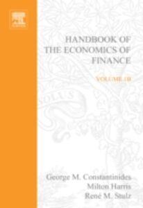 Ebook in inglese Handbook of the Economics of Finance -, -