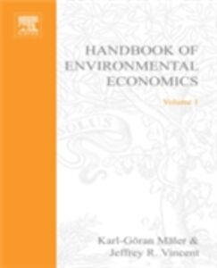 Foto Cover di Handbook of Environmental Economics, Ebook inglese di  edito da Elsevier Science
