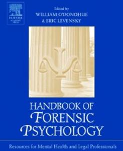 Ebook in inglese Handbook of Forensic Psychology -, -