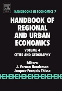 Ebook in inglese Handbook of Regional and Urban Economics -, -