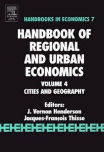 Ebook in inglese Handbook of Regional and Urban Economics -, -