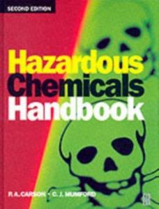 Ebook in inglese Hazardous Chemicals Handbook CARSON, P A