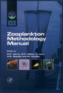 Ebook in inglese ICES Zooplankton Methodology Manual