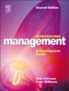 Ebook in inglese Introducing Management Johnson, Bob , Williams, Kate