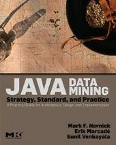 Java Data Mining: Strategy, Standard, and Practice