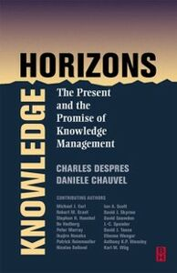 Ebook in inglese Knowledge Horizons Chauvel, Daniele , Despres, Charles