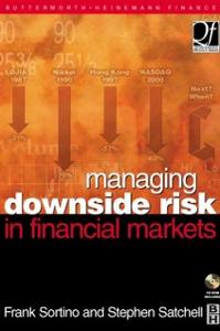 Ebook in inglese Managing Downside Risk in Financial Markets -, -