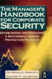 Ebook in inglese Manager's Handbook for Corporate Security Halibozek, Edward , Kovacich, Gerald L.