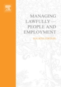 Ebook in inglese Managing Lawfully - People and Employment Super Series -, -