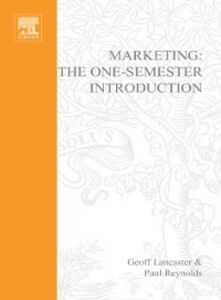 Foto Cover di Marketing, Ebook inglese di Geoff Lancaster,Paul Reynolds, edito da Elsevier Science