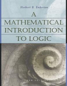 Ebook in inglese Mathematical Introduction to Logic Enderton, Herbert , Enderton, Herbert B.