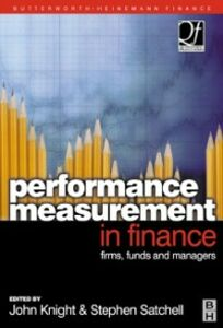 Ebook in inglese Performance Measurement in Finance -, -