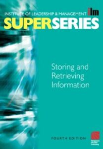 Ebook in inglese Storing and Retrieving Information Super Series