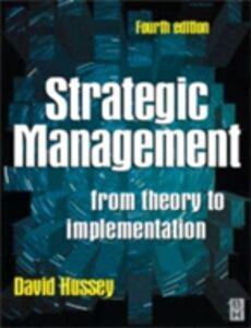 Ebook in inglese Strategic Management Hussey, David E.