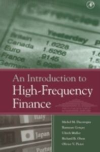 Foto Cover di Introduction to High-Frequency Finance, Ebook inglese di AA.VV edito da Elsevier Science