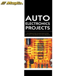 Ebook in inglese Auto Electronics Projects Maplin