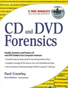 Ebook in inglese CD and DVD Forensics Crowley, Paul