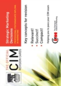 Ebook in inglese CIM Revision Card: Strategic Marketing Decisions Knowledge, marketing