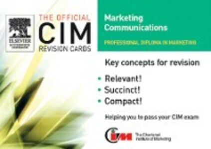 Foto Cover di CIM Revision Cards 05/06: Marketing Communications, Ebook inglese di marketing Knowledge, edito da Elsevier Science