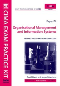 Ebook in inglese CIMA Exam Practice Kit Organisational Management and Information Systems Robertson, Jaspar