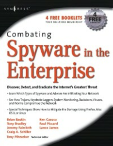 Ebook in inglese Combating Spyware in the Enterprise Piccard, Paul