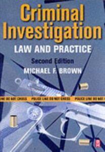 Ebook in inglese Criminal Investigation Brown, Michael F.