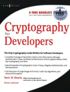 Ebook in inglese Cryptography for Developers Denis, Tom St