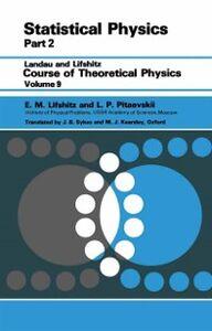 Ebook in inglese Statistical Physics Lifshitz, E.M. , Pitaevskii, L. P.
