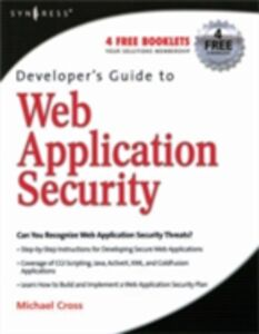 Ebook in inglese Developer's Guide to Web Application Security Cross, Michael