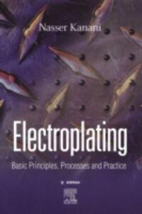 Ebook in inglese Electroplating Kanani, Nasser