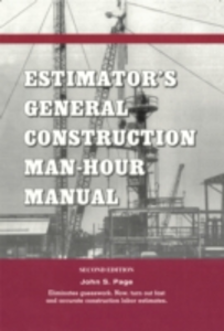Ebook in inglese Estimator's General Construction Manhour Manual Page, John S.