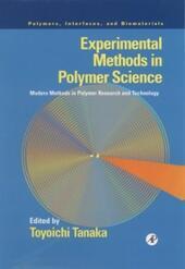 Experimental Methods in Polymer Science