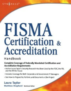 Ebook in inglese FISMA Certification and Accreditation Handbook Taylor, L. , Taylor, Laura P.