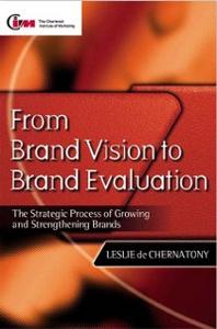 Ebook in inglese From Brand Vision to Brand Evaluation Chernatony, Leslie de
