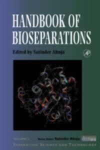 Ebook in inglese Handbook of Bioseparations -, -