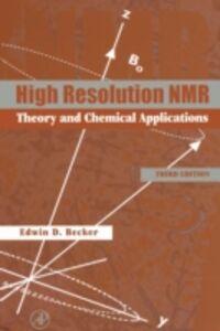 Ebook in inglese High Resolution NMR Becker, Edwin D.
