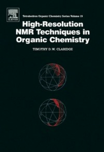 Ebook in inglese High-Resolution NMR Techniques in Organic Chemistry Claridge, T.