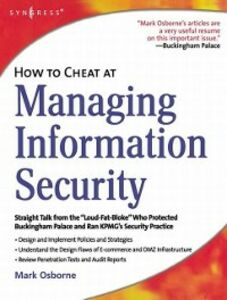 Ebook in inglese How to Cheat at Managing Information Security Osborne, Mark