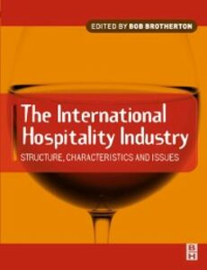 Ebook in inglese International Hospitality Industry