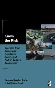 Ebook in inglese Know the Risk Duffey, Romney , Saull, John