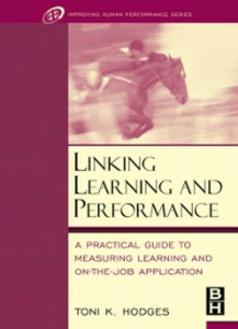Ebook in inglese Linking Learning and Performance Hodges, Toni