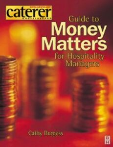 Ebook in inglese Money Matters for Hospitality Managers Burgess, Cathy