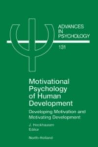 Ebook in inglese Motivational Psychology of Human Development -, -