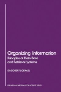 Ebook in inglese Organizing Information Soergel, Dagobert