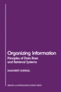 Ebook in inglese Organizing Information Soergel, Dagobert