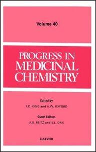 Ebook in inglese PROGRESS MEDICINAL CHEM PMC40H -, -