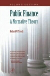 Foto Cover di Public Finance, Ebook inglese di Richard W. Tresch, edito da Elsevier Science
